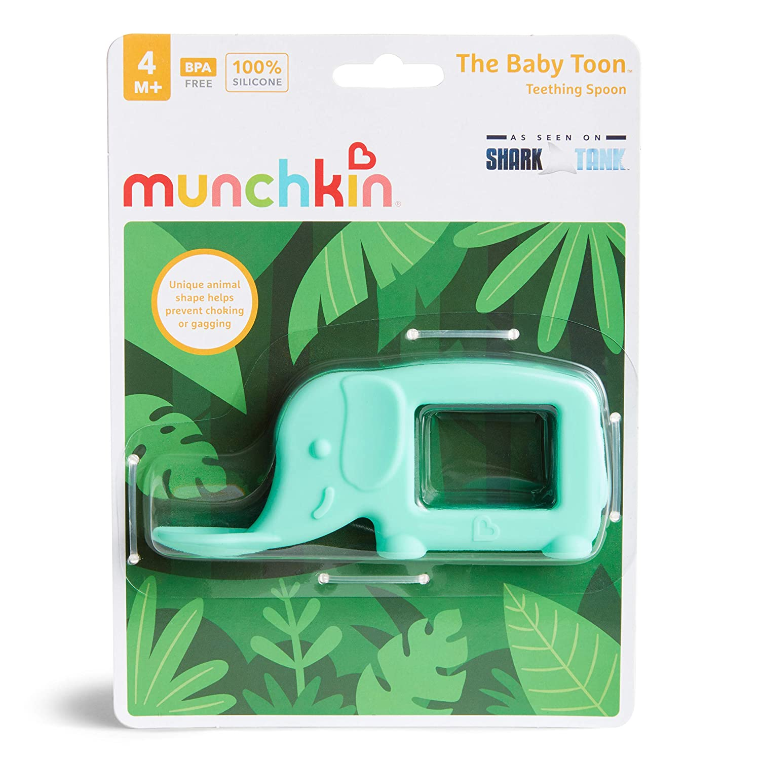 Koala As Seen On Shark Tank Munchkin The Baby Toon Silicone Teether Spoon