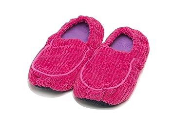 Amazon.com: Warmies totalmente Microwavable Zapatillas por ...