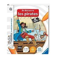 Ravensburger 00591 - Jeu Éducatif Électronique - Tiptoi - Livre - Je Découvre les Pirates