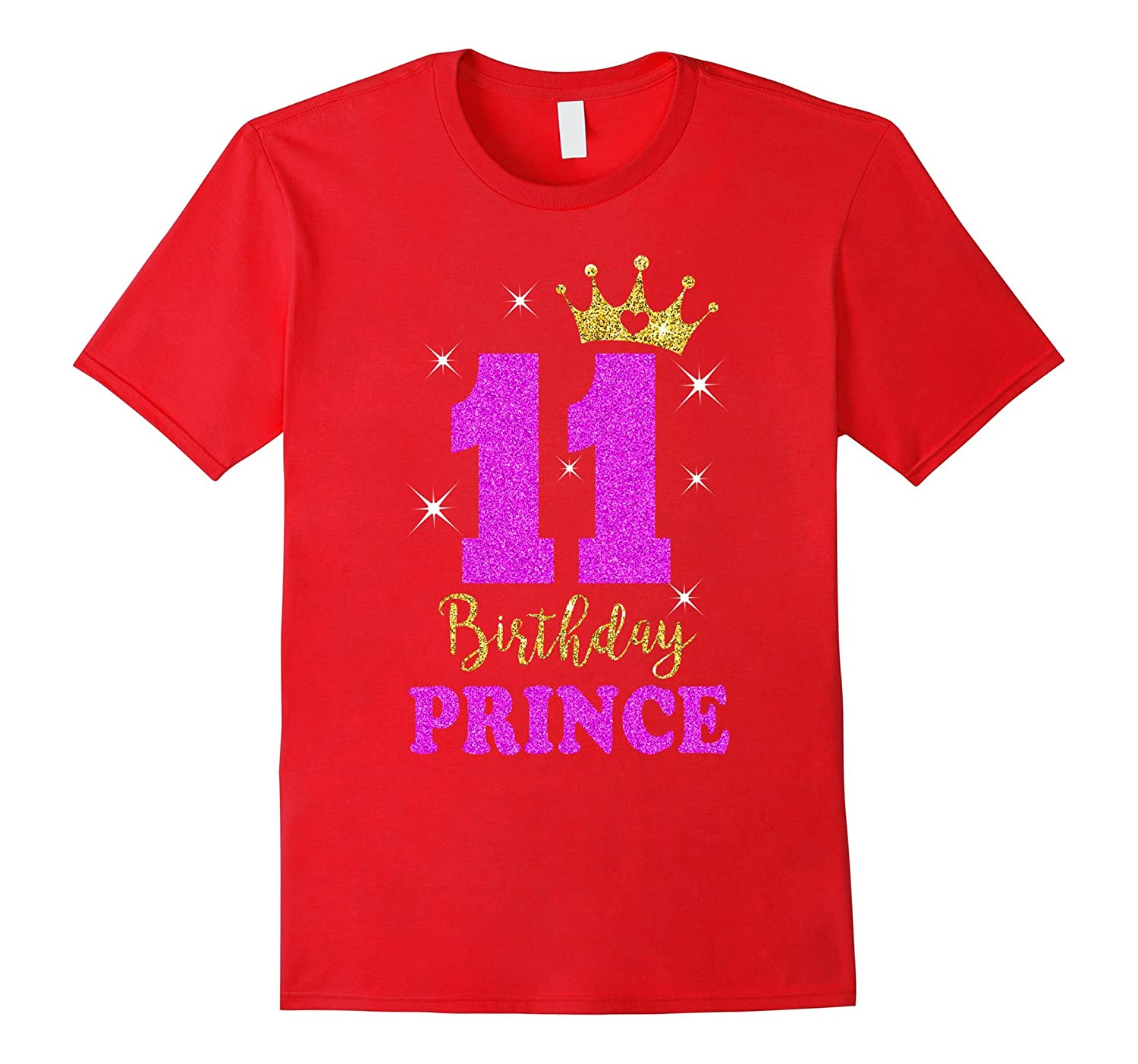 Cute 11th Birthday Prince Gifts For Son 11 Years Old T Shirt ANZ
