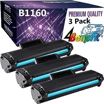 5 pk 1160 Black Toner Cartridge for Dell B1163W B1165nfw B1160 B1160W Printer