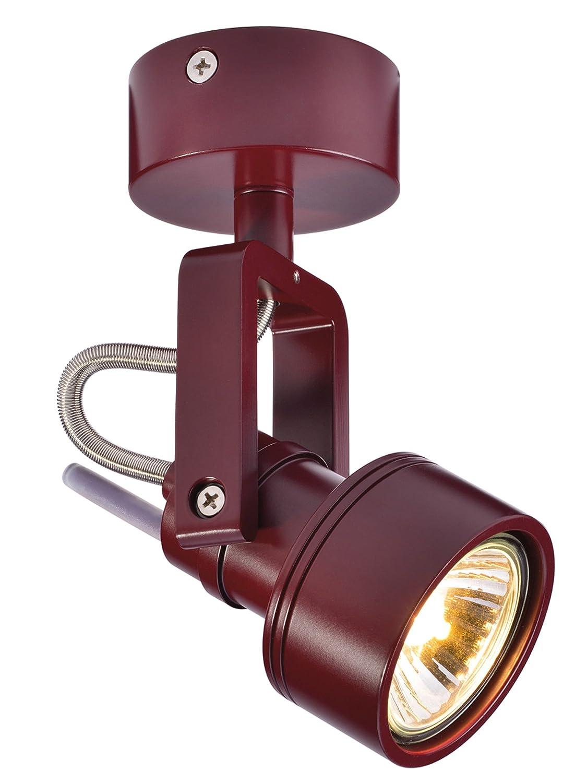 SLV LED Strahler INDA dreh- und schwenkbar | Smarte Wand- und Decken-Leuchte zur individuellen Innen-Beleuchtung | Decken-Spot, Deckenfluter, Deckenstrahler, Decken-Lampe, Wand-Lampe | GU10, EEK bis A++ [Energieklasse A] 147559