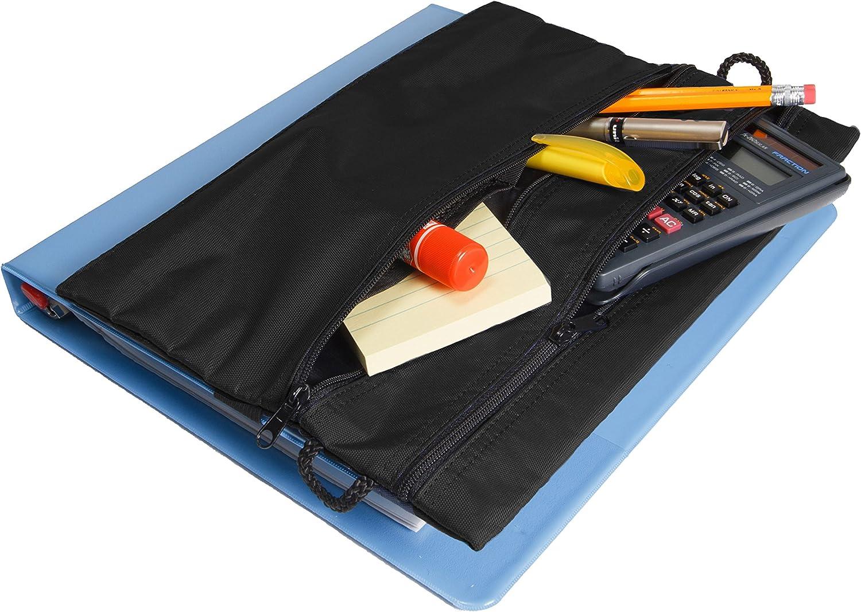 Strap-n-Sack Black Pencil Pouch
