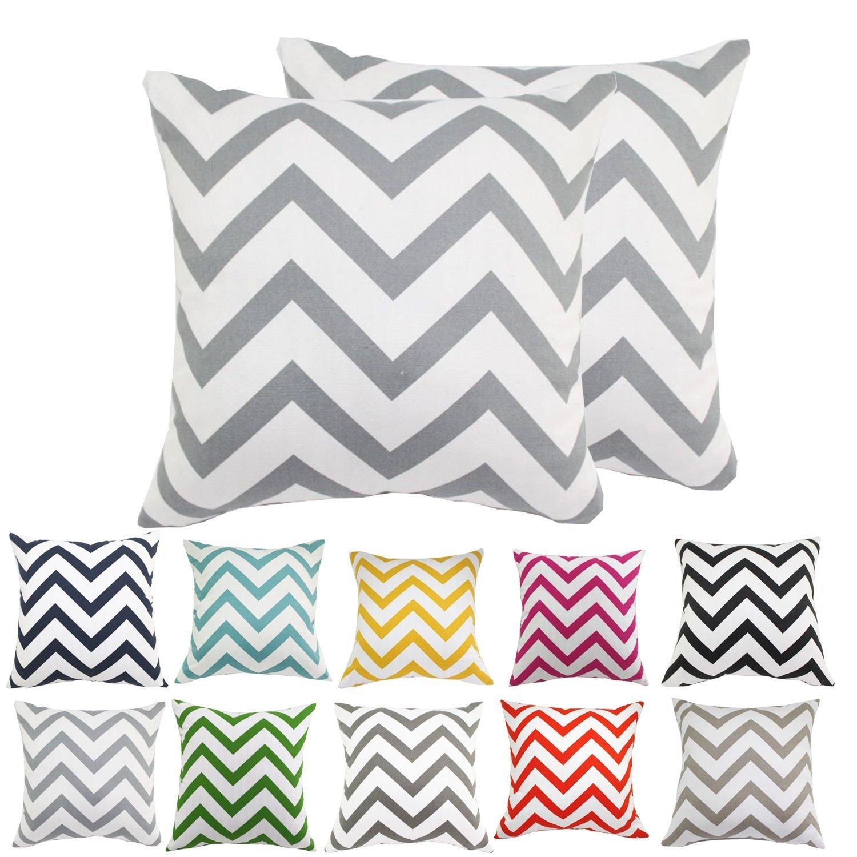 30x45cm,Camel Comoco/® 2pc-Pattern Decorative Geometric Thick Canvas Pillowcase Cushion Cover for Sofa Throw Pillow Case