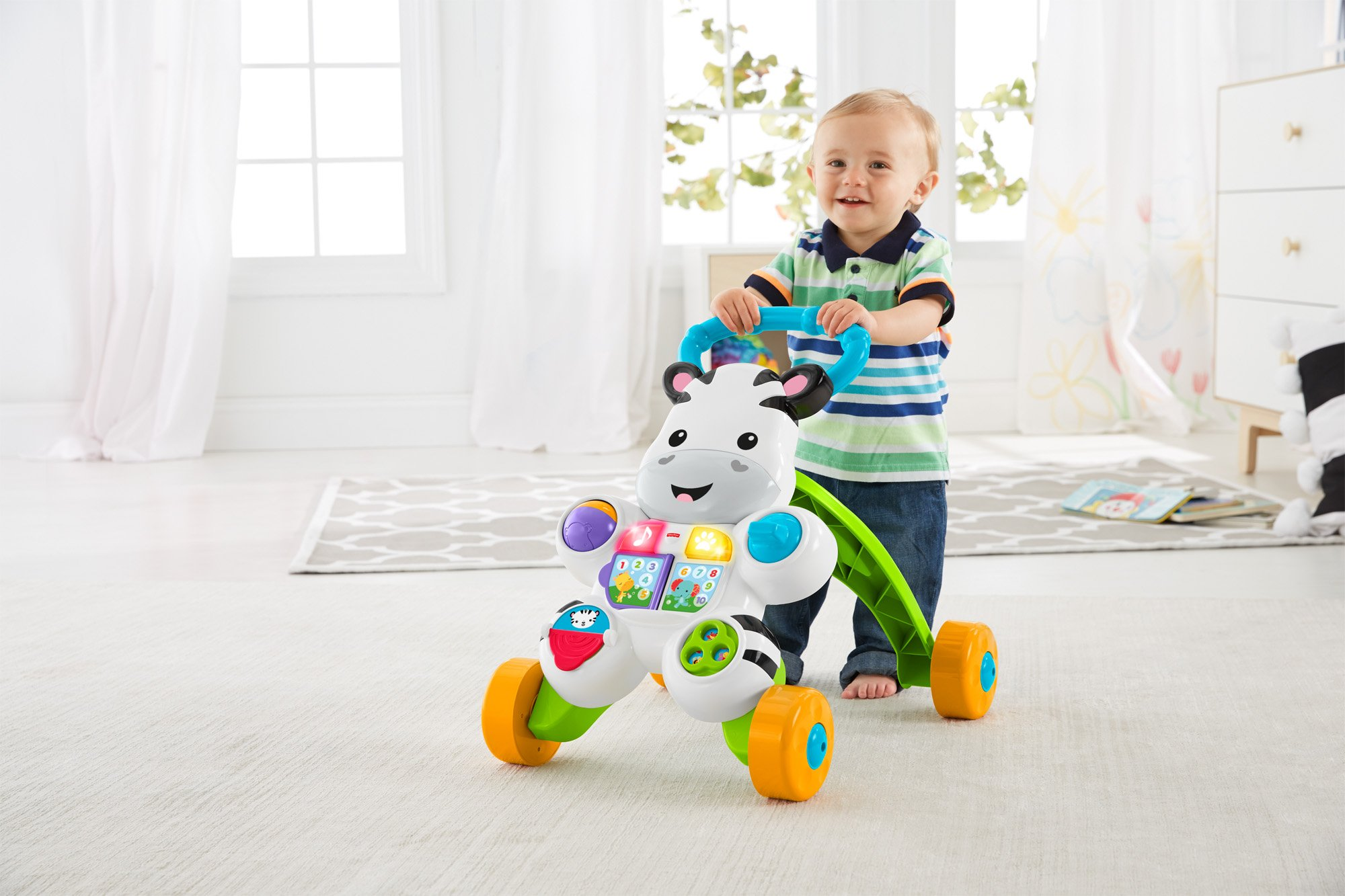 Toddler ABC Learning Standing Walking Walker Toys Activities Push