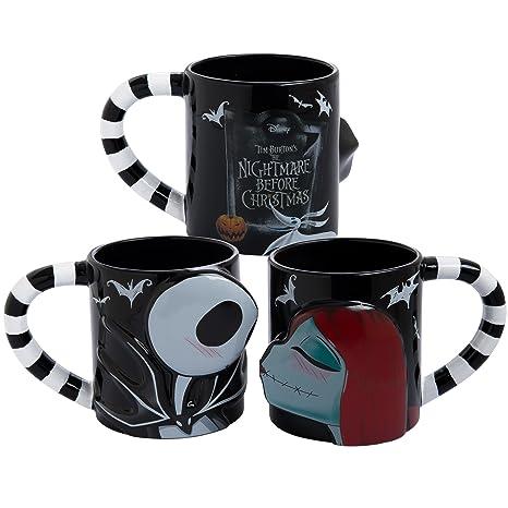 Nightmare Before Christmas Coffee Mug.Vandor 84001 The Nightmare Before Christmas 20 Oz Mug Set