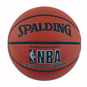 Amazon.com : Spalding Varsity Rubber Outdoor Basketball : Sports ...