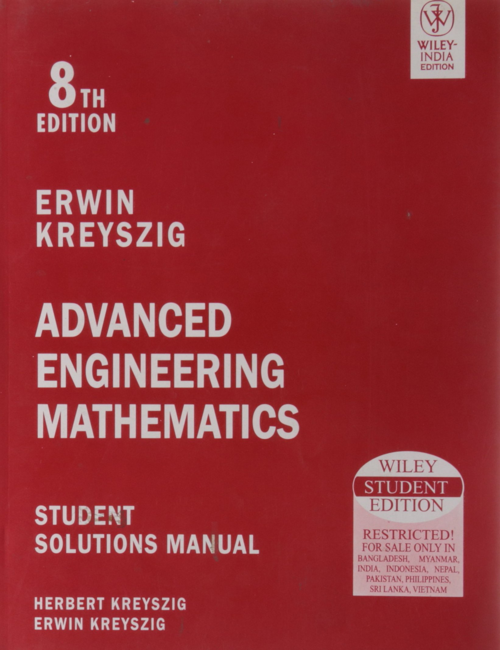 Buy Advanced Engineering Mathematics: Student Solutions Manual Book Online  at Low Prices in India | Advanced Engineering Mathematics: Student Solutions  ...