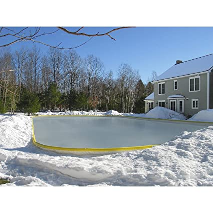 Great NICERINK NRCS 25X45 REPLACEMENT BACKYARD ICE RINK LINER