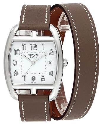detailed look 0e3b4 e8e01 Amazon | [エルメス]HERMES 腕時計 ケープコッドトノー ドゥブル ...