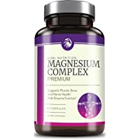 High Absorption Magnesium Complex 500mg - Mag Supplement Formulated for Muscle Relaxation & Recovery, Non