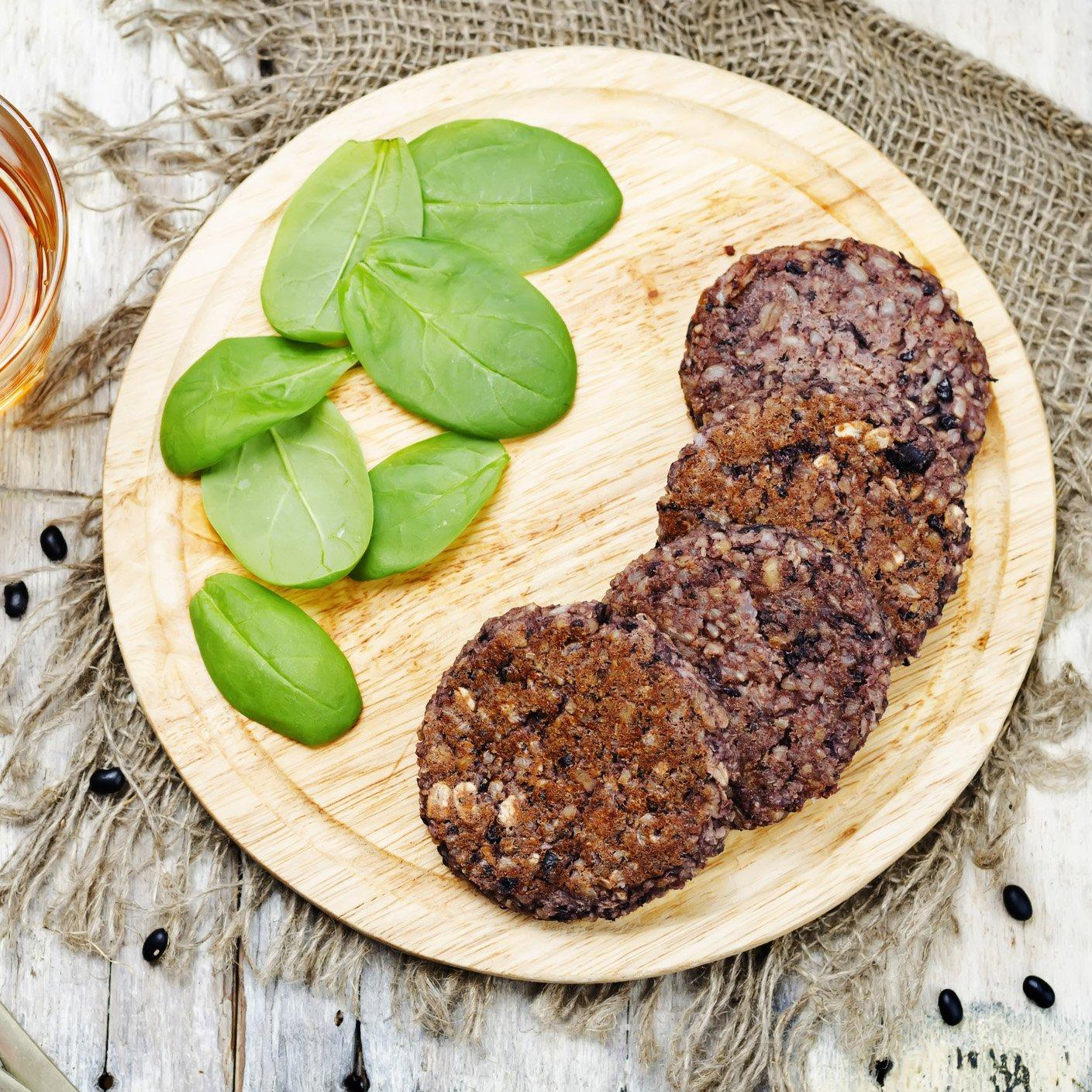 Augason Farms Gluten-Free Black Bean Burger 2 lbs 14 oz No. 10 Can by Augason Farms (Image #7)
