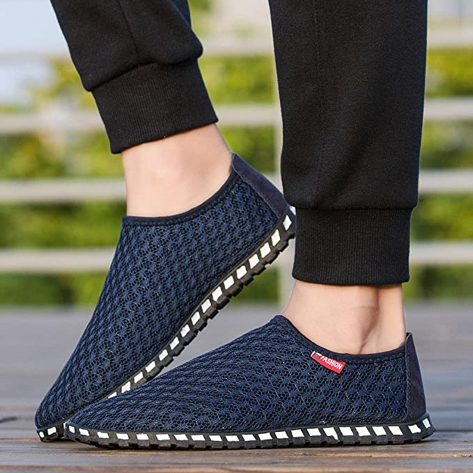 Riou Men Shoes Hollow Out Breathable Casual Couple Beach Outdoor Fashion Shoes: Amazon.co.uk: Clothing