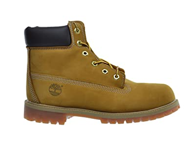 9eea09761e2d1 Timberland Big Kids 5 Inch Premium Waterproof Boots Wheat 12909 (4 M US)