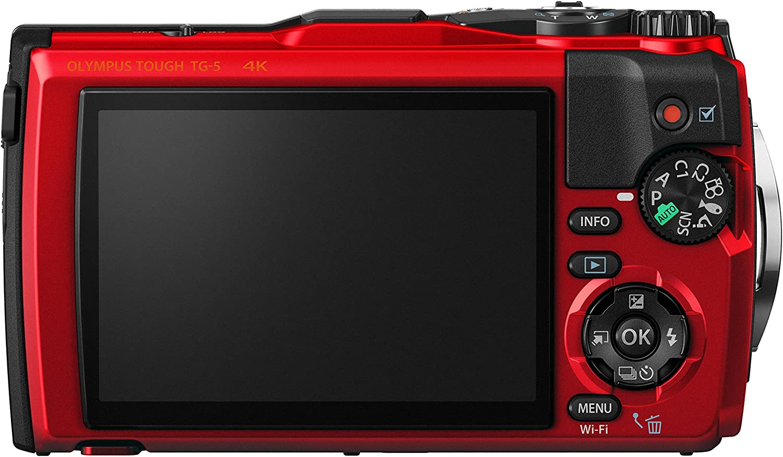 Olympus Tough TG-5 Open Water Diver Kit TG-5 Digitalkamera schwarz ...