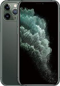Apple iPhone 11 Pro Max, 512GB, Midnight Green - Fully Unlocked (Renewed)