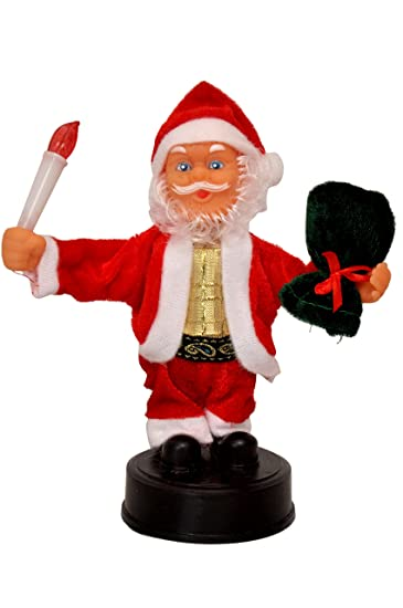 f3a9a3ef3683c Buy Toysyhine Santa Claus 12 inches Toy with Lights
