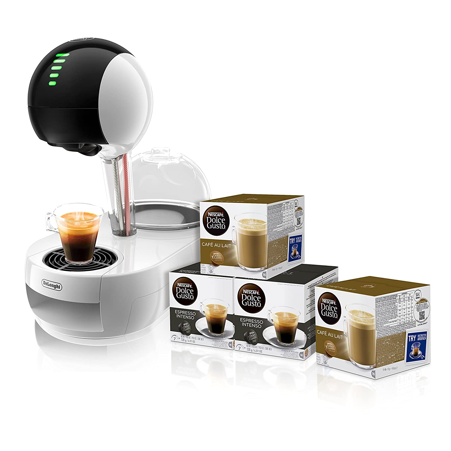 Pack DeLonghi Dolce Gusto Stelia EDG635.W - Cafetera de ...