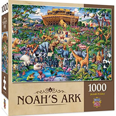 MasterPieces Inspirational Jigsaw Puzzle, Noah's Ark, Featuring Art by Eric Dowdle, 1000 Pieces