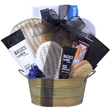 Great Arrivals Spa Gift Basket, Just For Men: Amazon.com: Grocery ...