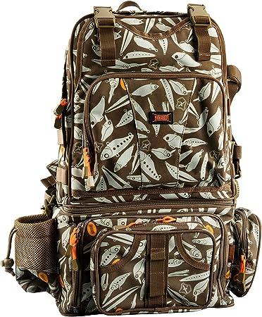 KINGDOM Ergonomic Large Fishing Backpack