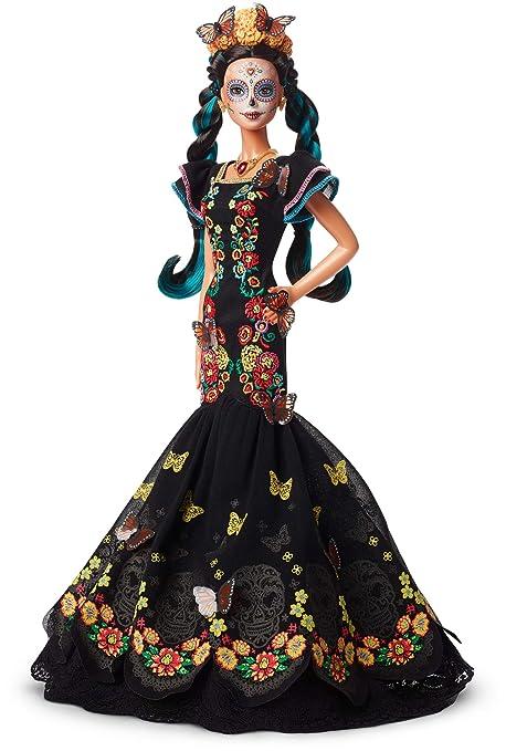 Barbie Catrina Muñeca Día De Muertos Coleccionable Amazon