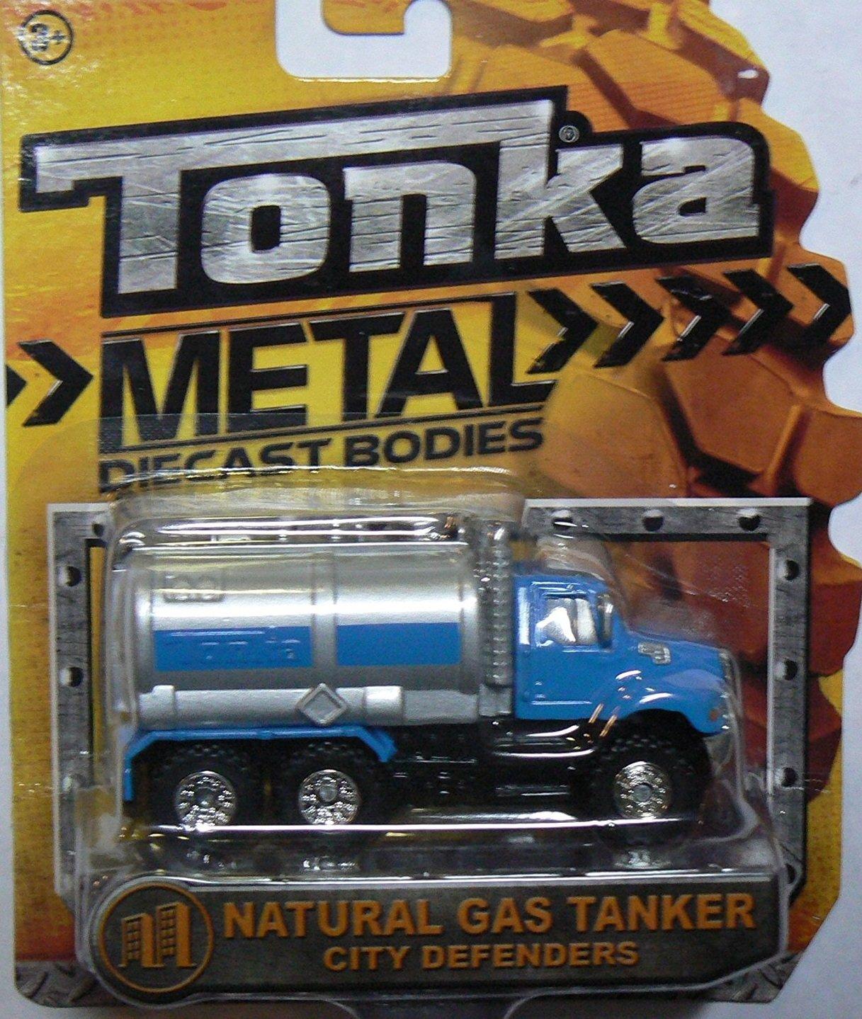 Tonka Metal Diecast Bodies City Defenders - Natural Gas Tanker by Tonka