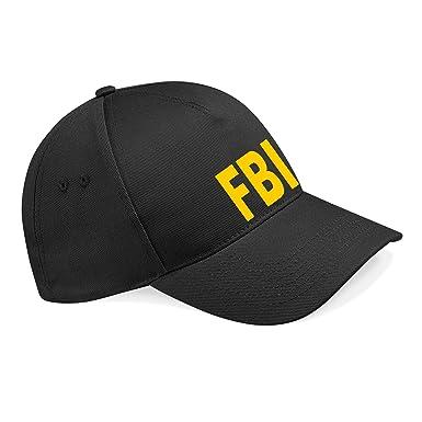 Embroidery and Print City FBI Baseball Cap  Amazon.co.uk  Clothing 95d2dd05767