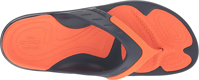Crocs Modi Sport Flip, Infradito Donna Blu
