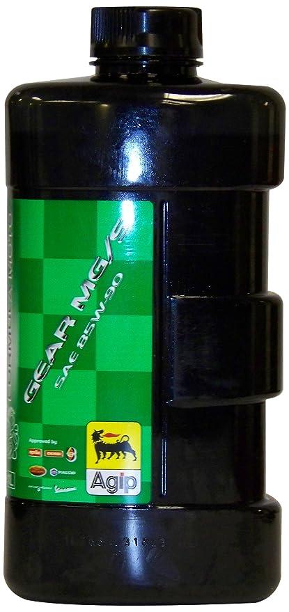 Aceite para transmisiones de Motos SAE 85W-90 - Agip Formula Moto Gear MG/S 85W-90 GL-5 - 1Litro - Moto Guzzi: Amazon.es: Coche y moto