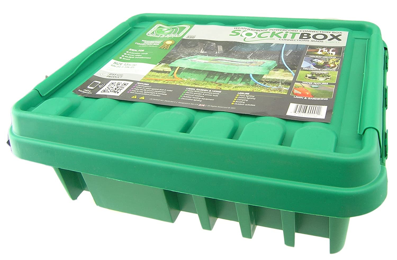 SOCKiT BOX FL-1859-200 Small Weatherproof Powercord Connection Box ...