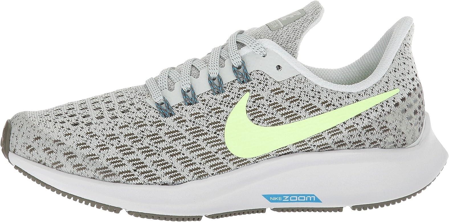 Nike Air Zoom Pegasus 35 (GS), Zapatillas para Hombre, Multicolor (Light Silver/Lime Blast/Twilight Marsh 001), 39 EU: Amazon.es: Zapatos y complementos