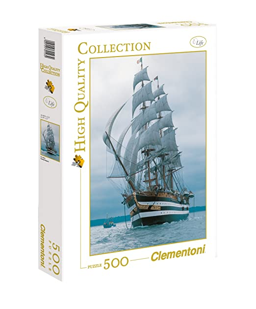 150 opinioni per Clementoni Puzzle 30123- Amerigo Vespucci- 500 pezzi High Quality Collection