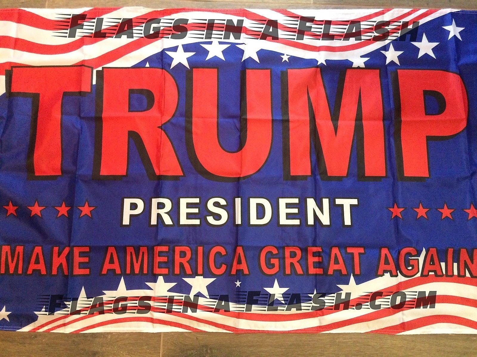 3'X 5' , 50 PRESIDENT TRUMP INAUGURATION FLAG FLAGS MAKE AMERICA GREAT AGAIN DONALD RED