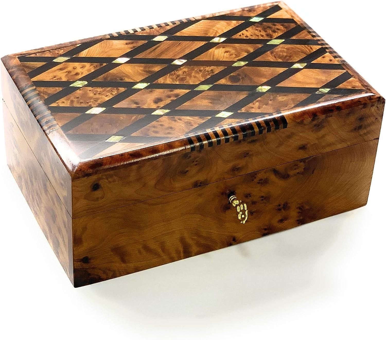 beads box wood  jewelry box carved box gift for mom wooden box birchbark Little birch bark box D 1.8  H 1.4