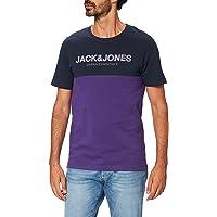 Jack & Jones Jjeurban Blocking tee SS O-Neck Noos Camiseta para Hombre