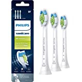 Philips Sonicare DiamondClean replacement toothbrush heads, HX6063/65, BrushSync technology, White 3 pk