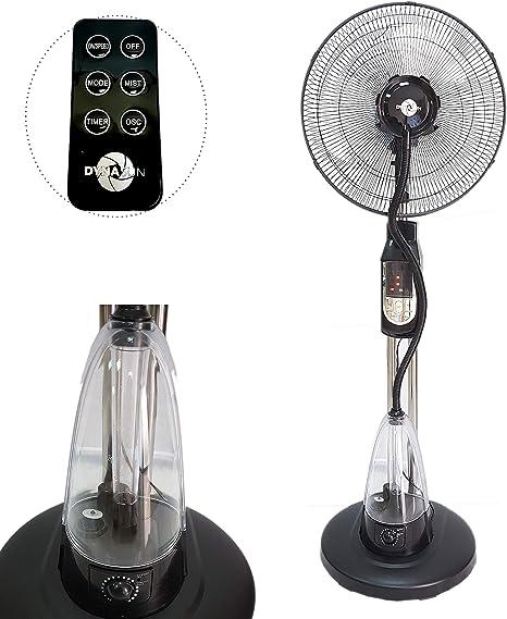 DynaSun MH-MF40A Ventilador Nebulizador de Piso de Agua oscilante ...