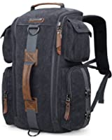 WITZMAN Outdoor Travel Duffels Backpack School Casual Daypack Canvas Rucksack