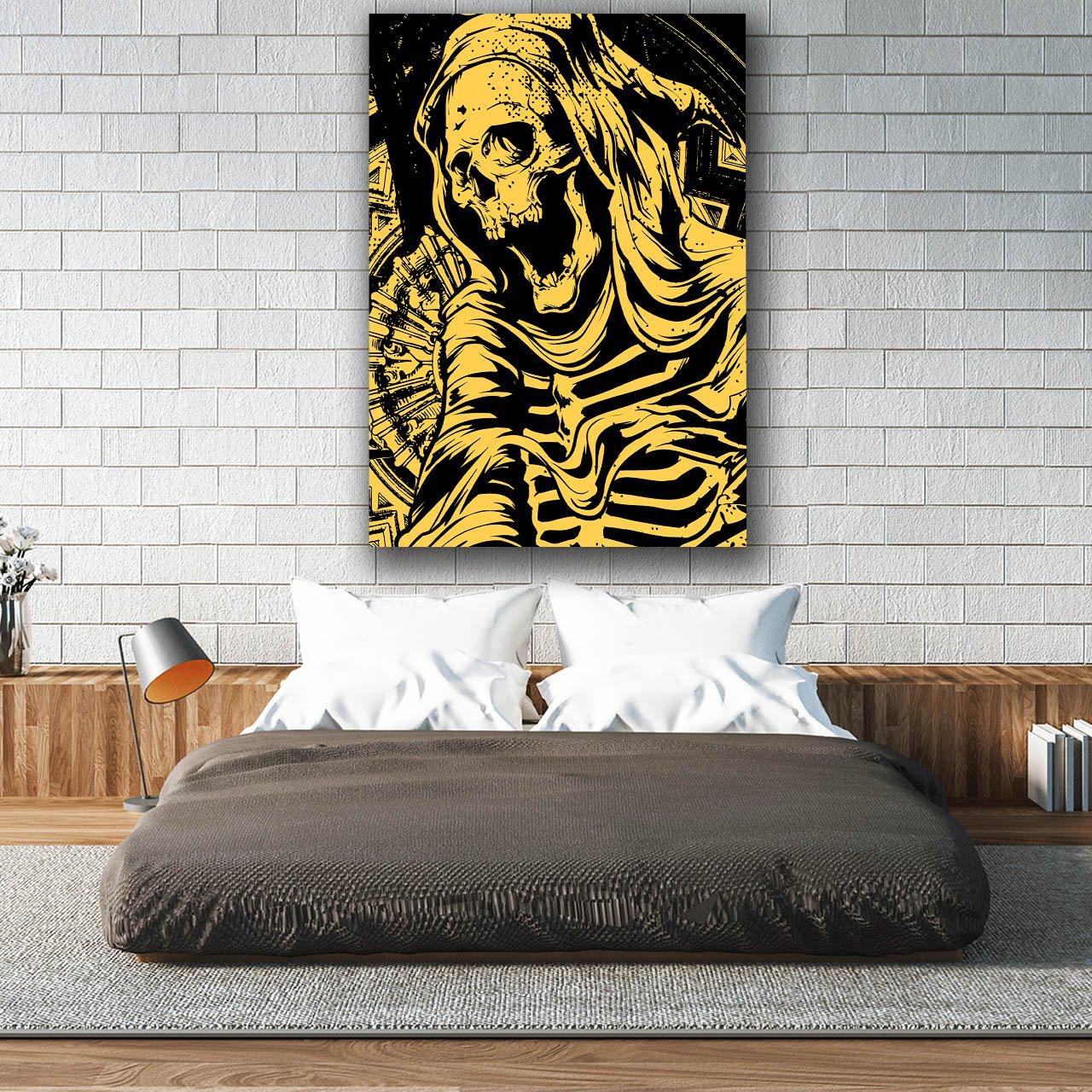 Amazon.com: Reaper Death Skull Grim Dead Body Matte/Glossy Poster A4 (30cm x 21cm) | Wellcoda: Posters & Prints