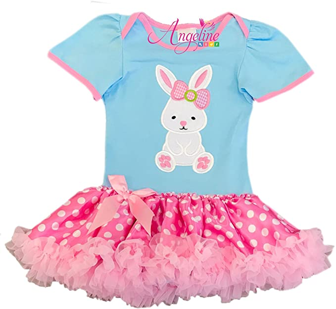 5b35adc4c Amazon.com  Boutique Clothing Baby Girls Valentine Easter Day Easter ...