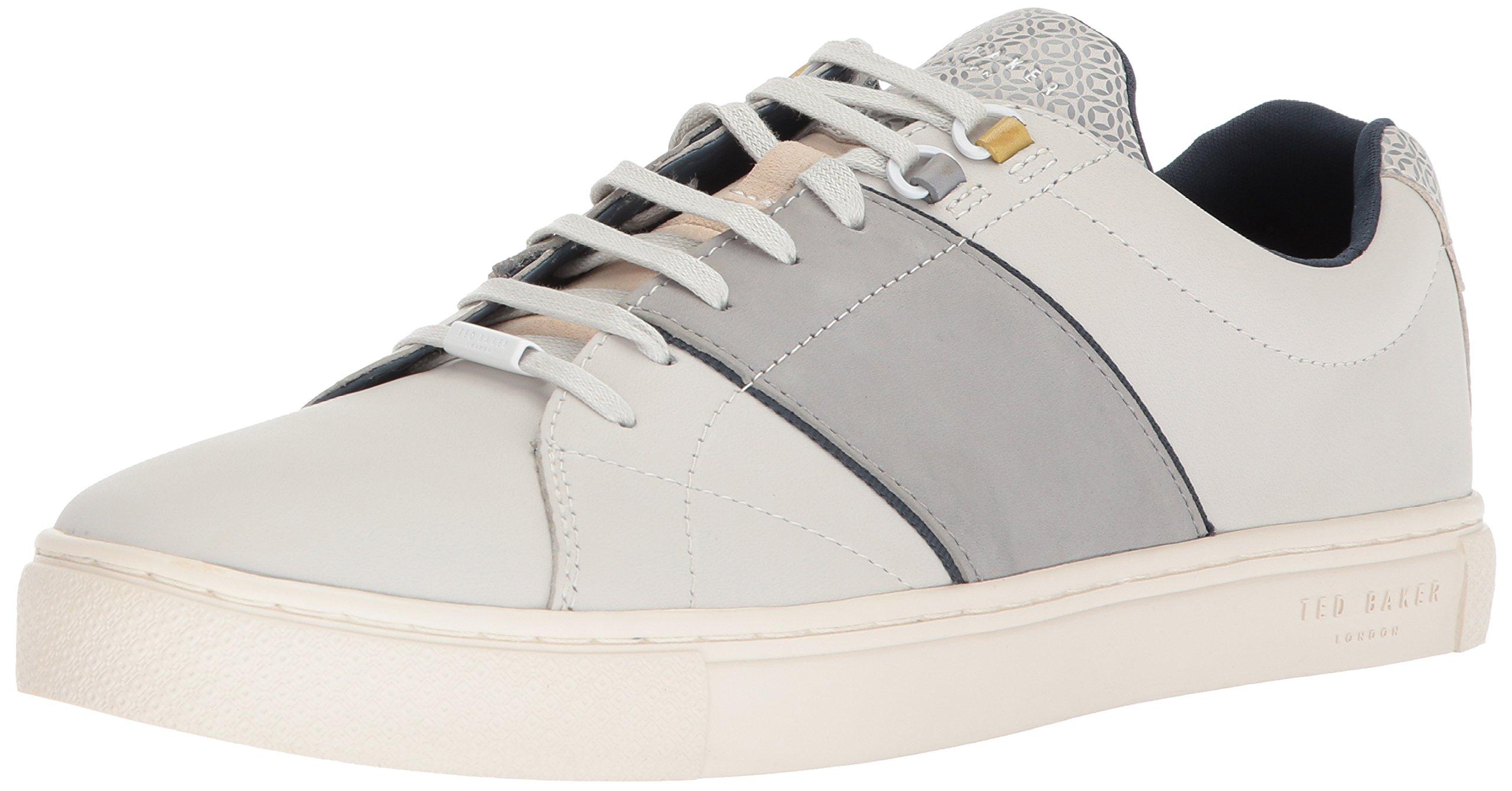Ted Baker Men's Quana Sneaker, White, 13 M US