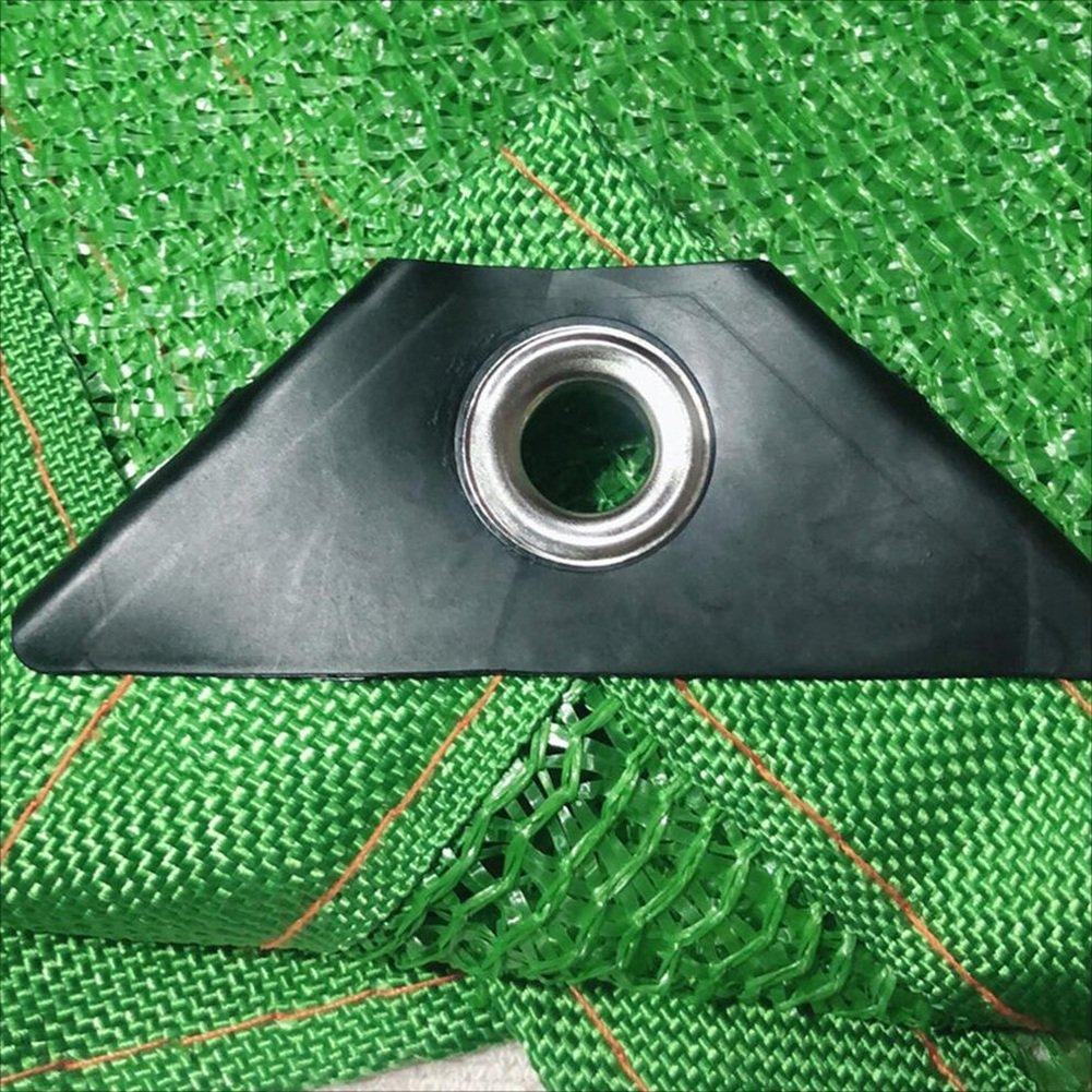 YANZHEN Rete Parasole Telone Telone Telone Telo Copertura Ombreggiatura Protezione Solare 6 Punti Anti età Punzonatura del Bordo Fiori, Personalizzazione della Lunghezza (colore   verde, Dimensioni   4x10m) cc3ea7