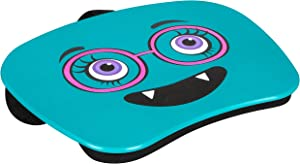 LapGear Mymonster Lap Desk - Turquoise - Fits Up to 15.6 Inch Laptops - Style No. 46509