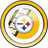 Pittsburgh Steelers Dinner Plates 10' Plastic Melamine Team Logo Duck House
