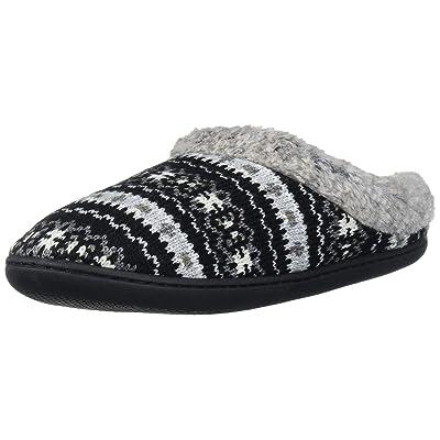 Dearfoams Women's Sweater Knit Clog with Memory Foam Slipper | Mules & Clogs
