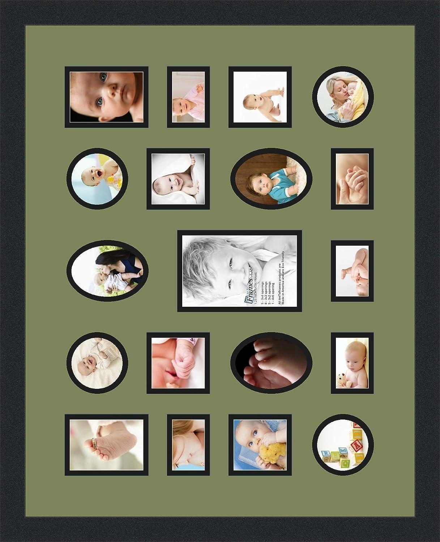 Amazon.de: arttoframes Alphabet Fotografie Bild Rahmen mit 1-4 X 6 ...