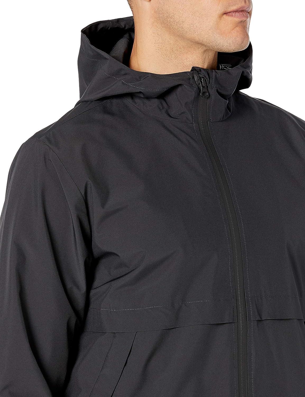 Peak Velocity Men's Windbreaker Full-Zip Jacket: Clothing