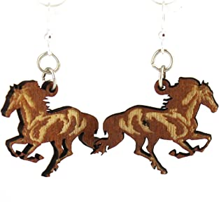 product image for Running Horse Earrings