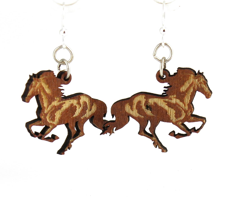 Running Horse Earrings